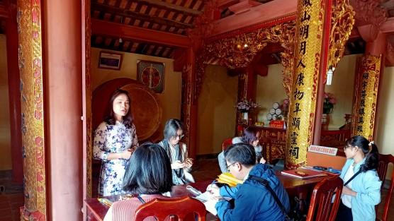 Học viên MAS tìm hiểu về truyền thống giáo dục và khoa bảng Nho giáo của xứ Đông tại Chí Linh, Hải Dương