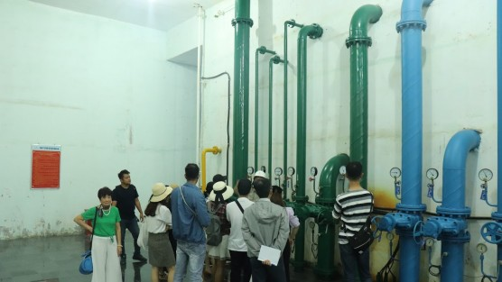 MEE's students learnt from wastewater treatment technology in Phu Yen