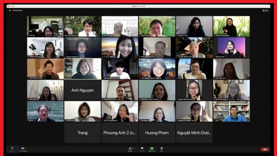 MBA tổng kết online kỳ thực tập dành cho học viên Khóa 4