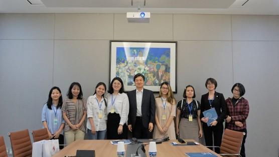 Học viên MGL năm 2 đi thực tế tại Quỹ Giao lưu quốc tế Hàn Quốc