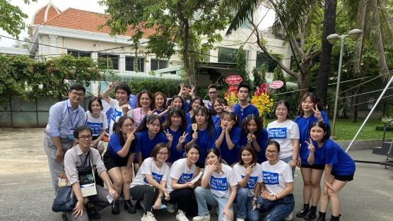 Trường ĐH Việt Nhật tham gia Lễ hội Nhật – Việt lần thứ 7 tại TP. Hồ Chí Minh