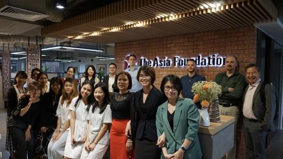 Học viên MGL đi thực tế tại một số tổ chức quốc tế tại Hà Nội