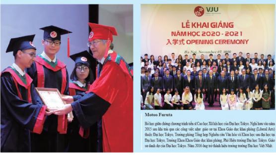 Tầm nhìn của nhà lãnh đạo Vol.36 Vietnam Japan University