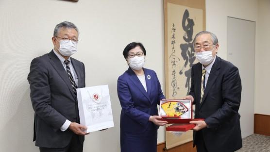 Trường Đại học Việt Nhật ký Thỏa thuận hợp tác Trao đổi sinh viên với Trường Đại học Toyo, Tokyo