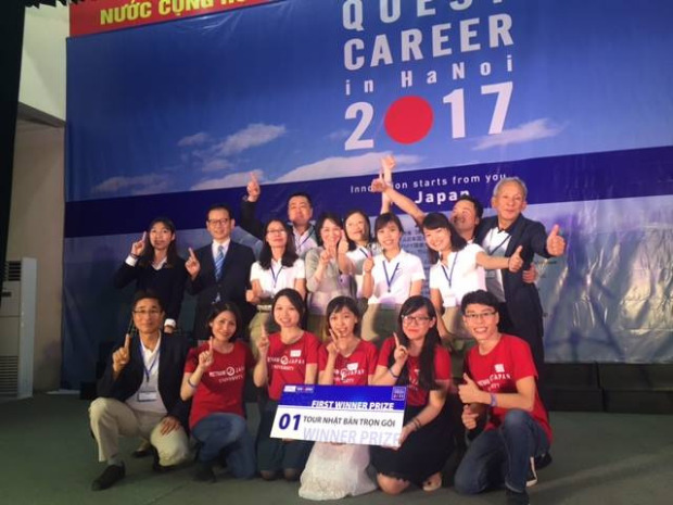 Innovation – How VJU students win Quest Career in Hanoi 2017